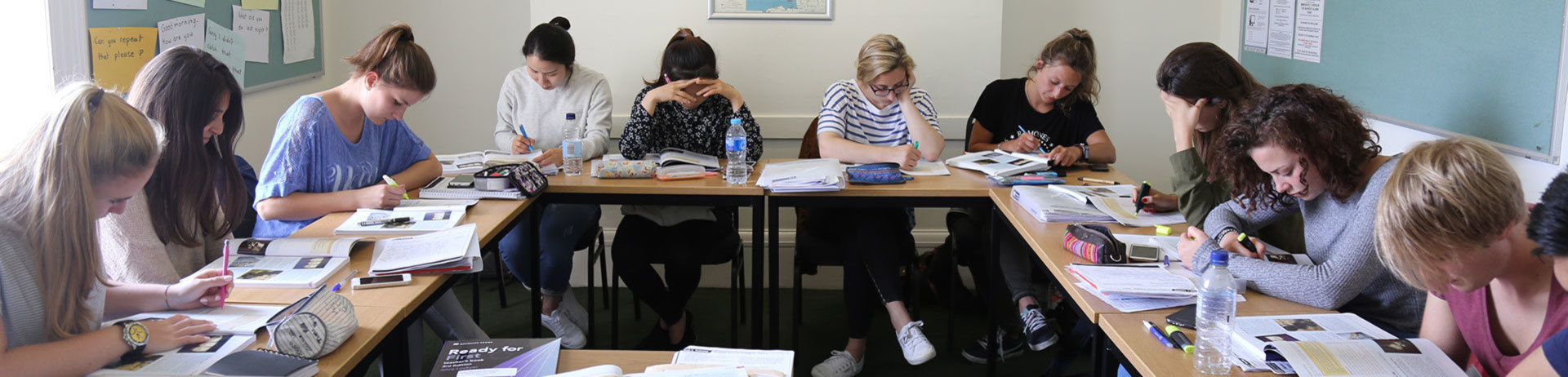 English Examination courses in Brighton and Eastbourne, England