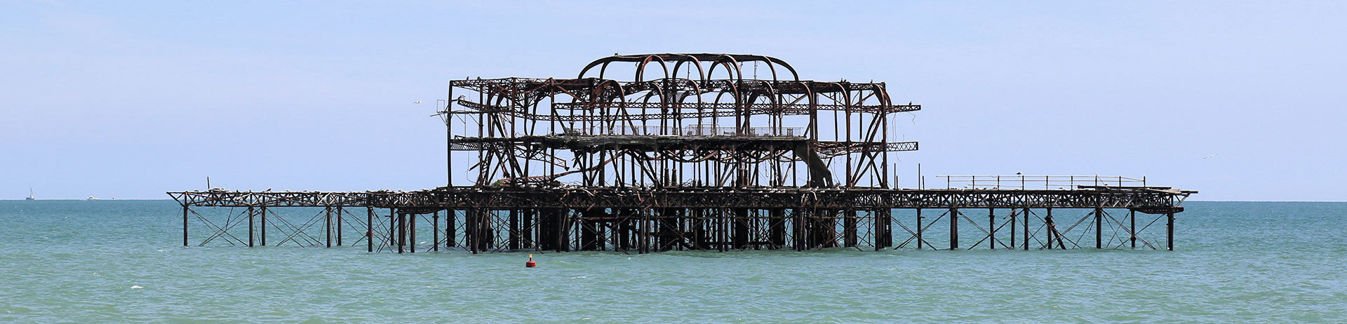 The West Pier, Brighton Seafront