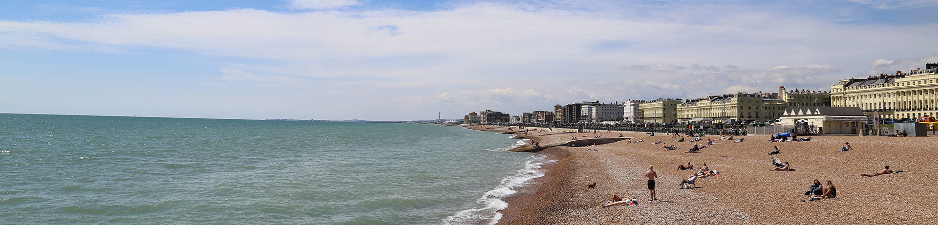 Seafront and beach