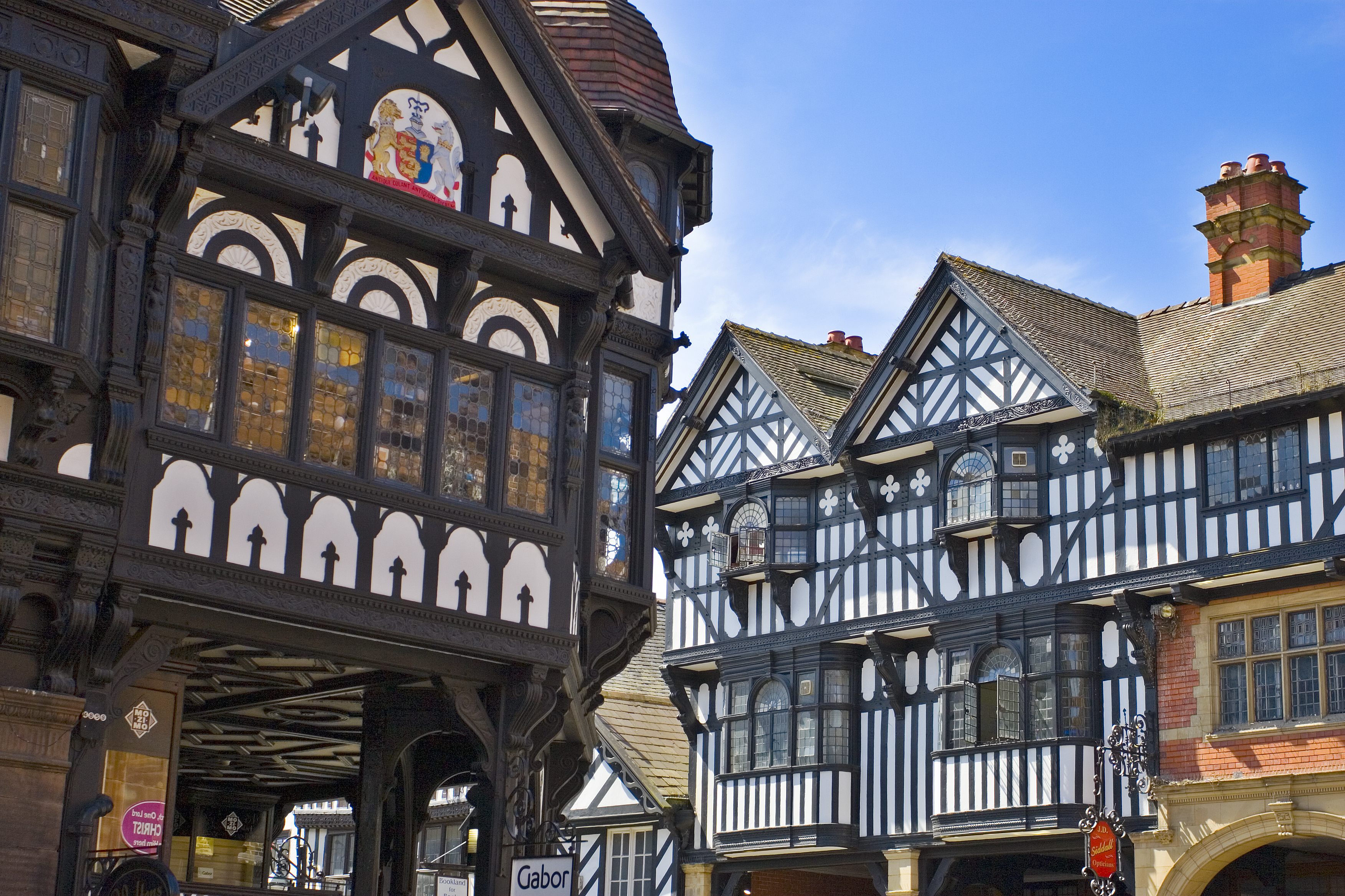 historic centre of Chester