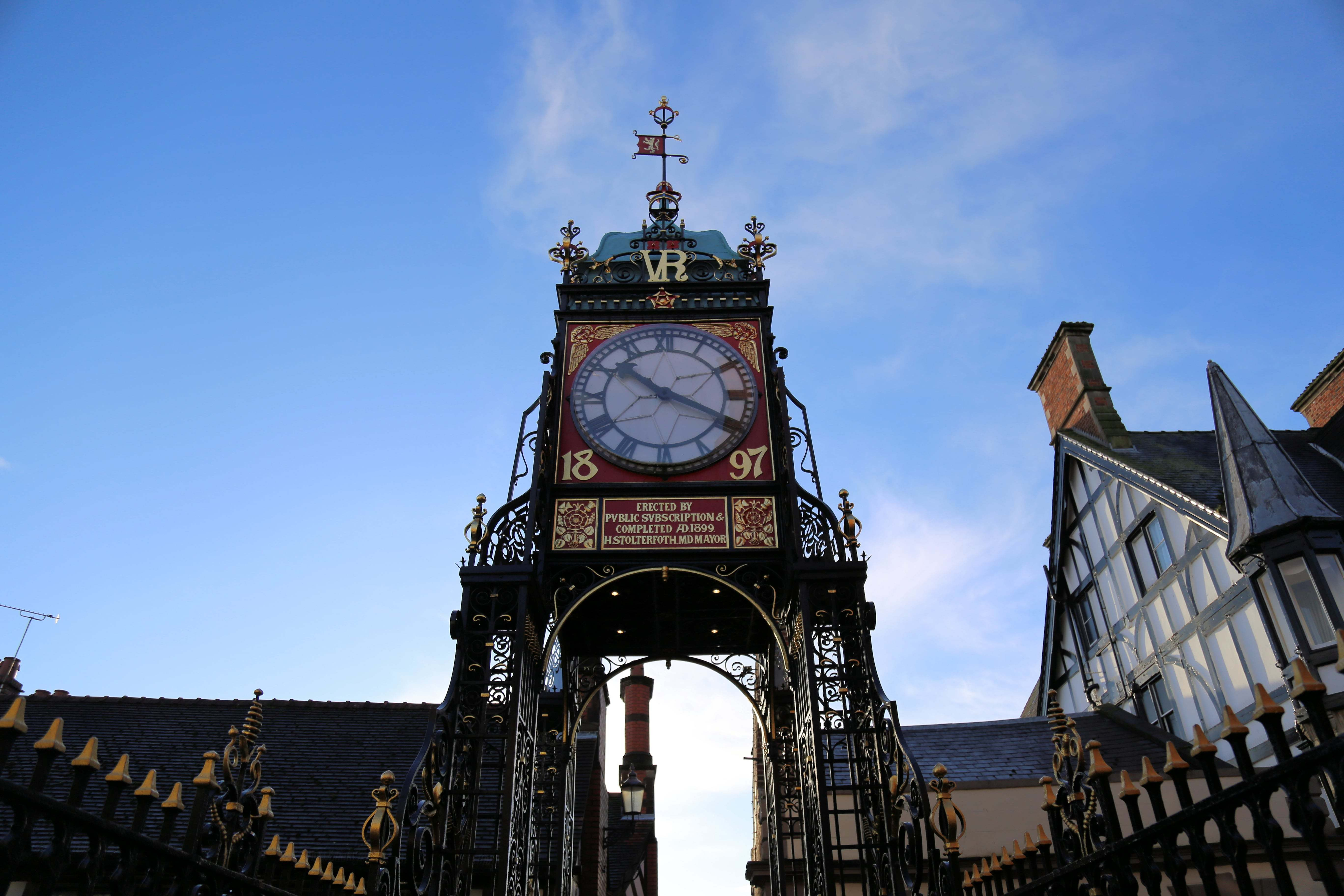 Eastgate clock in Chester